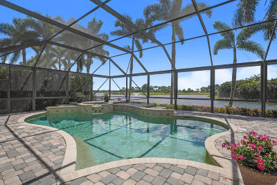 West Palm Beach Single Family Home For Sale: 7516 Hawks Landing Drive