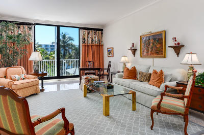 Palm Beach Condo For Sale: 400 S Ocean Boulevard #424-S