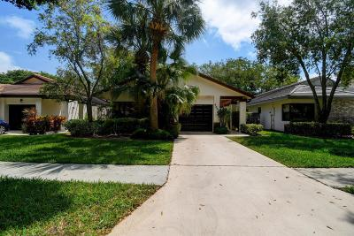 Boynton Beach Single Family Home For Sale: 4840 Boxwood Circle