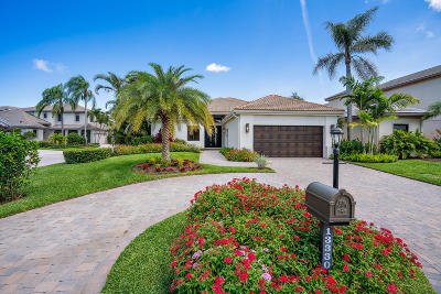Palm Beach Gardens Single Family Home For Sale: 13330 Deauville Drive
