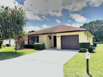 Greenacres Single Family Home For Sale: 6349 Tall Cypress Circle