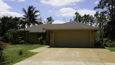 Loxahatchee Single Family Home For Auction