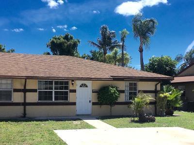 Palm Beach Gardens Townhouse For Sale: 4670 Arthur Street