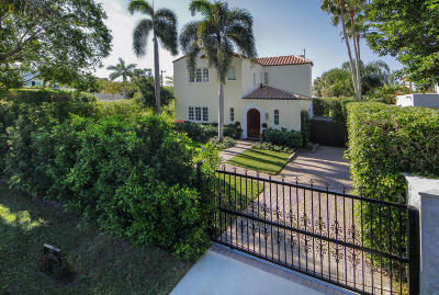 West Palm Beach Single Family Home For Sale: 252 E Lakewood Road