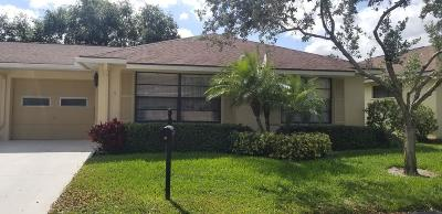 Boynton Beach Single Family Home For Sale: 9785 Parkinsonia Tree Trail #B