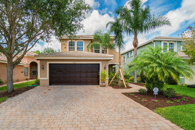 Boynton Beach Single Family Home For Sale: 8933 Morgan Landing Way