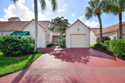 Boca Raton Single Family Home For Sale: 6150 Via Tierra