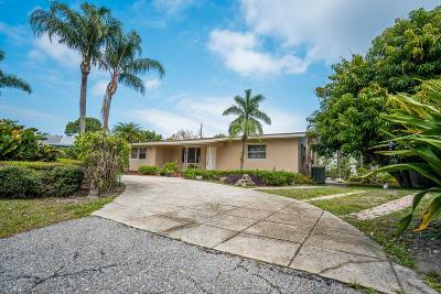 Jupiter Single Family Home For Sale: 1003 Cheyenne Street