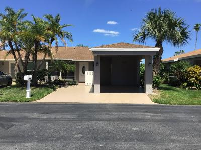 Delray Beach Single Family Home For Sale: 6669 Moonlit Drive