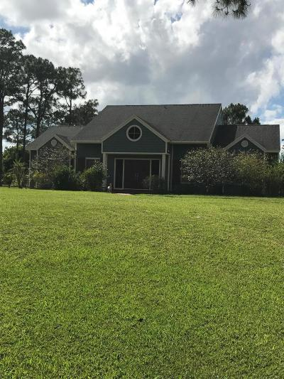 Lake Worth Single Family Home For Sale: 11661 Otter Run