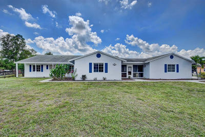 Loxahatchee Single Family Home For Sale: 16356 E Mayfair Drive