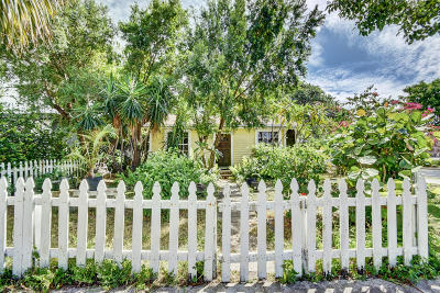West Palm Beach Single Family Home For Sale: 846 Park Place