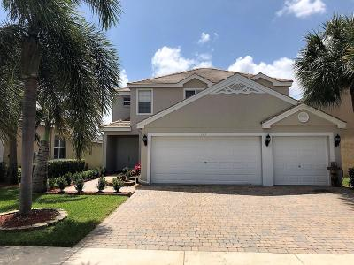 Royal Palm Beach Single Family Home Contingent: 323 Berenger Walk