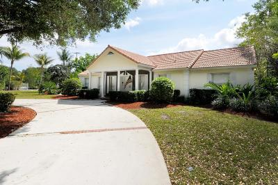 Lake Worth Single Family Home For Sale: 4780 Misty Pines Trail