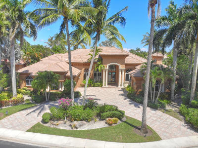 West Palm Beach Single Family Home For Sale: 7125 Eagle Terrace