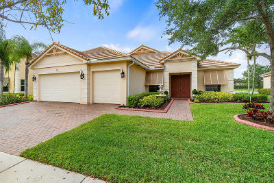 Royal Palm Beach Single Family Home For Sale: 481 Saint Emma Drive