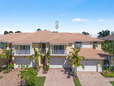 Palm Beach Gardens Townhouse For Sale: 2036 Chelsea Place