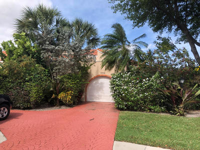 Boca Raton Single Family Home For Sale: 22794 Meridiana Drive