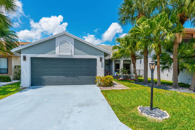 Boca Raton Single Family Home For Sale: 23379 Boca Trace Drive