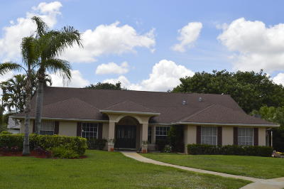 Wellington Single Family Home For Sale: 15470 Softwood Court
