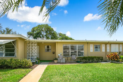 Delray Beach Single Family Home For Sale: 282 High Point Court W # B