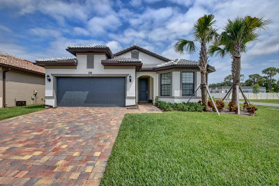 Lake Worth Single Family Home For Sale: 8280 Hanoverian Drive