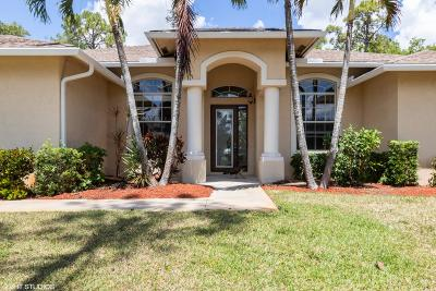 Lake Worth Single Family Home For Sale: 9355 Yearling Drive