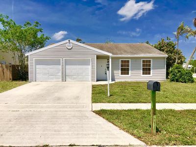 Lake Worth Single Family Home For Sale: 7711 Ashwood Lane
