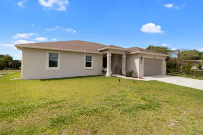 Loxahatchee Single Family Home For Sale: 17626 37th Place