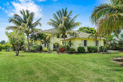 Lake Worth Single Family Home For Sale: 9718 Eagle Point Lane