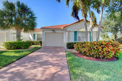Delray Beach Single Family Home For Sale: 6207 Floral Lakes Drive