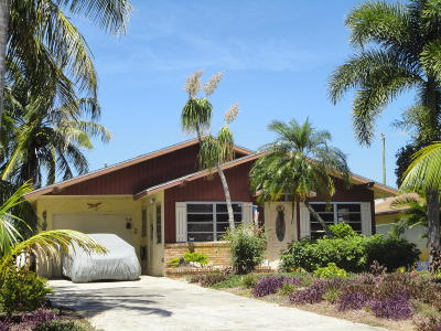Delray Beach Single Family Home For Sale: 4947 Jefferson Road