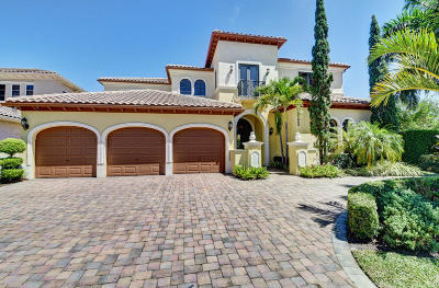 Boca Raton Single Family Home For Sale: 17809 Key Vista Way
