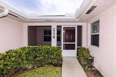 Fort Pierce Condo For Sale: 1778 Dovetail Drive #B