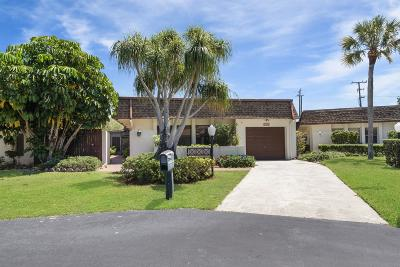 Lake Worth Single Family Home For Sale: 3482 Stanton Terrace
