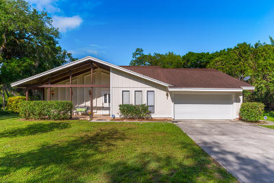 Fort Pierce Single Family Home For Sale: 3603 W Wilderness Drive