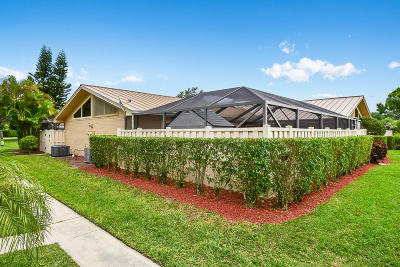 Palm Beach Gardens Townhouse For Sale: 5397 Eagle Lake Drive