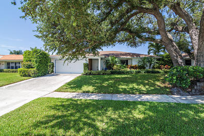 West Palm Beach Single Family Home For Sale: 2373 Gabriel Lane