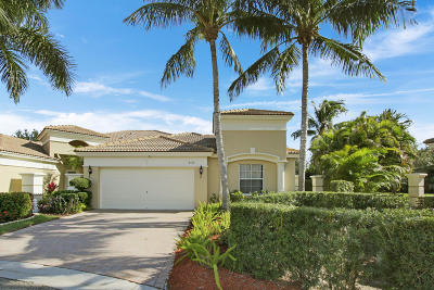 West Palm Beach Single Family Home For Sale: 8170 Red Bay