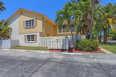 Jupiter Condo For Sale: 256 Seabreeze Circle