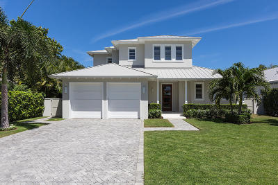 Delray Beach FL Single Family Home For Sale: $2,325,000