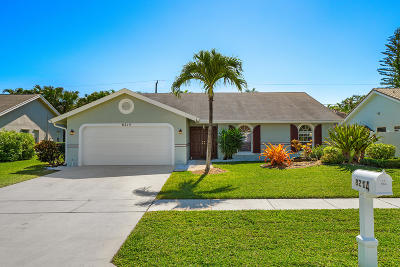 Boca Raton Single Family Home For Sale: 8214 Texas Trail