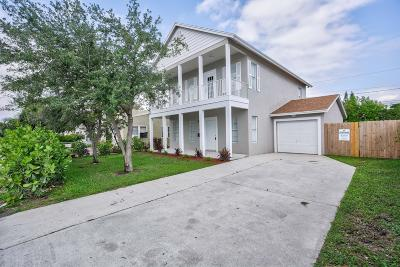West Palm Beach Single Family Home For Sale: 615 39th Street
