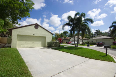Palm Beach Gardens Single Family Home For Sale: 82 Ironwood Way