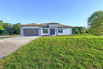 Loxahatchee Single Family Home For Sale: 17882 38th Road