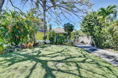 Delray Beach Single Family Home For Sale: 4880 Lincoln Road