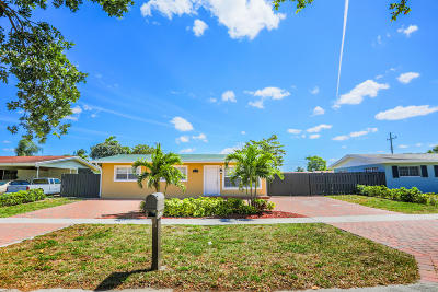 West Palm Beach Single Family Home For Sale: 3126 Egremont Drive