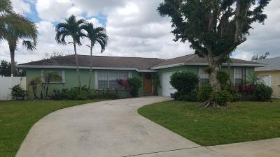 West Palm Beach Single Family Home For Sale: 2670 Flamango Lake