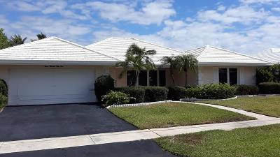 Boca Raton Single Family Home For Sale: 739 Elm Tree Lane