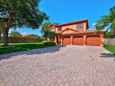Lake Worth Single Family Home Contingent: 7270 Anadale Circle